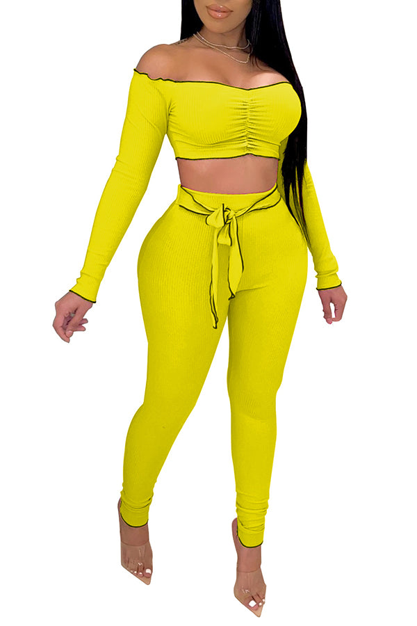 MB Fashion YELLOW 2 PCs Set 8104