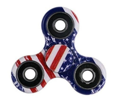 MB Fashion American Flag Hand Spinner