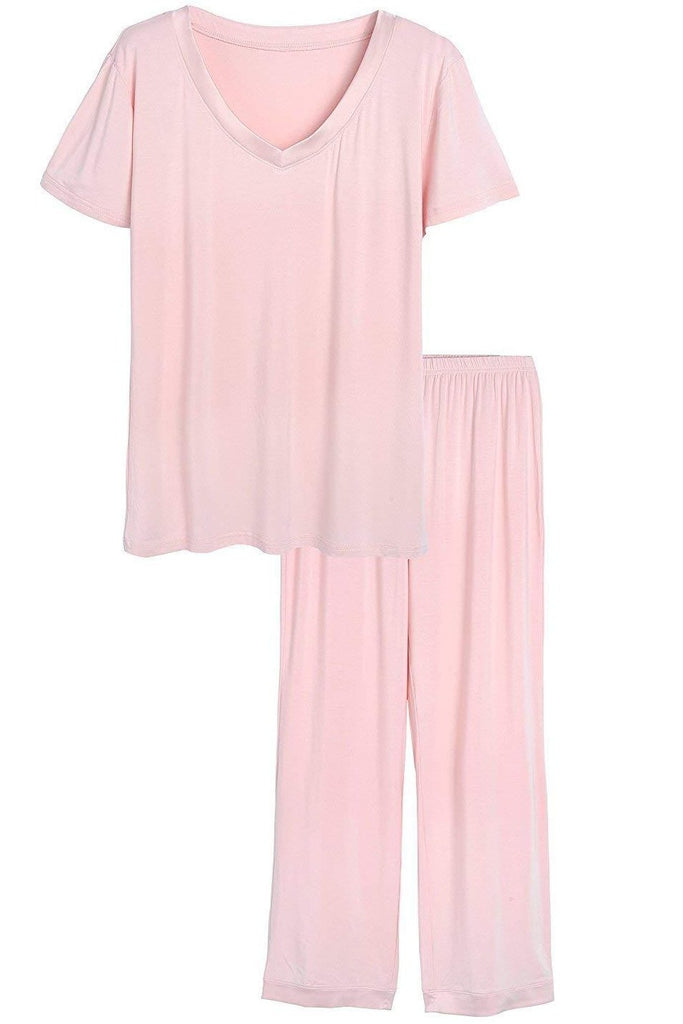 MB Fashion Pajama Pink 2 PCs Set 6194