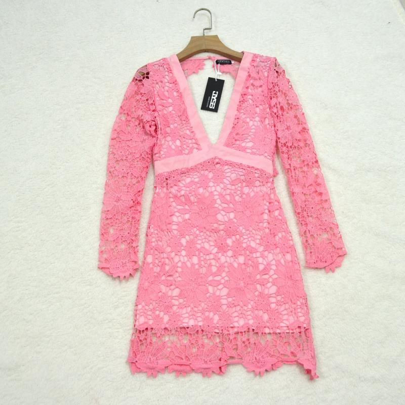 MB Fashion Dress Pink 8090 NO Stretch