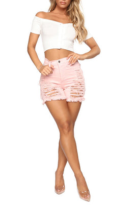 MB Fashion PINK Shorts 2841 SIZE run small