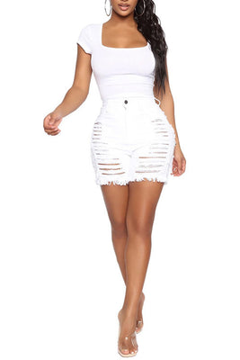 MB Fashion WHITE Shorts 2841 SIZE run small