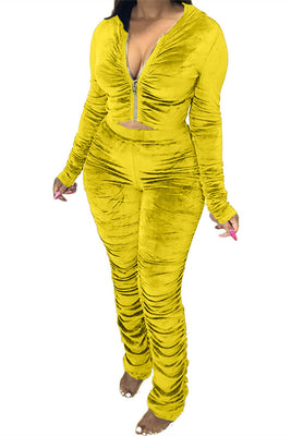 MB Fashion YELLOW 2 PCs Set 1539R