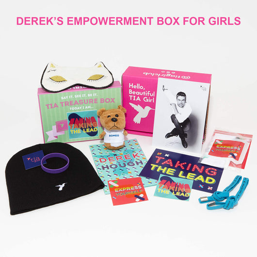 Special Edition Tia Empowerment Girl Box from Derek Hough