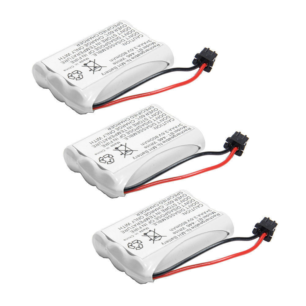 3 Pack of Uniden DCT737 Battery