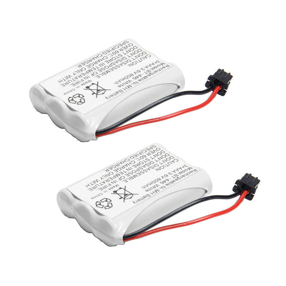 2 Pack of Uniden DCT738 Battery