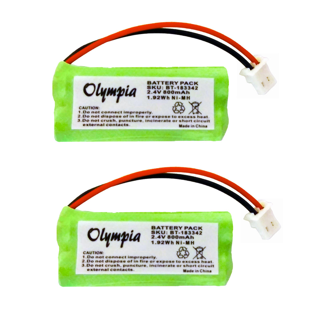 2 Pack of American Telecom E30025CL Battery