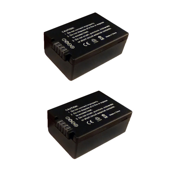2 Pack of Panasonic DMW-BMB9 Battery