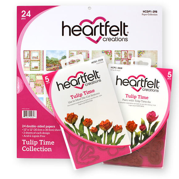 Heartfelt - Tulip Time (Jan 19)