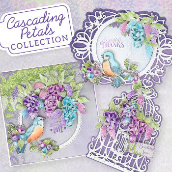 Heartfelt Creations - Cascading Petals (May 20) **IN STORE NOW **