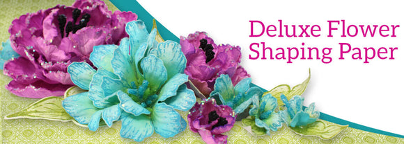 Heartfelt Creations Deluxe Flower Shaping Paper