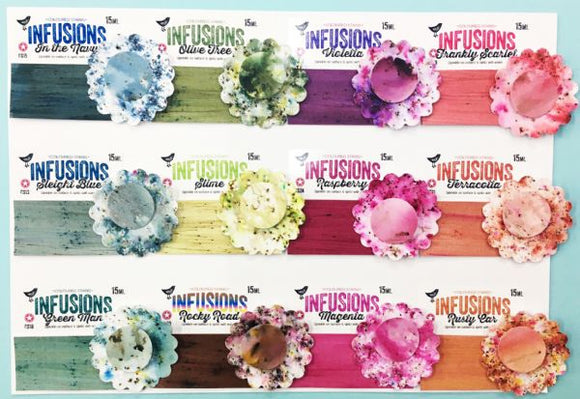 ** NEW PRODUCTS ** PaperArtsy - Infusions