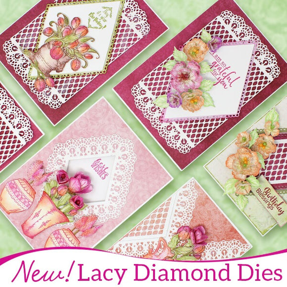 Heartfelt Creations - Lacy Diamond Dies Feb 19