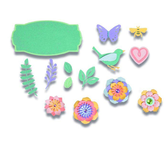 Sizzix Thinlits Die Set 20PK - Spring Things Item: 663583