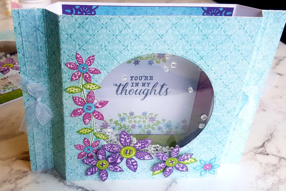 Patchwork Daisy Shaker Card Kit (CK) - (01/12/18)