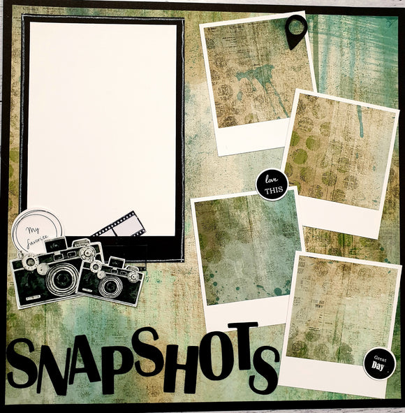 **INSTRUCTIONS ONLY** for RW-006 : Snapshots (SBK)*