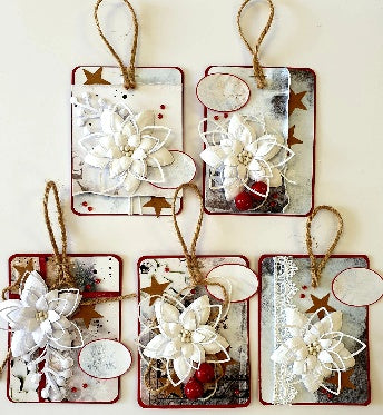 **INSTRUCTIONS ONLY** for Christmas Tags (CK) #C446*