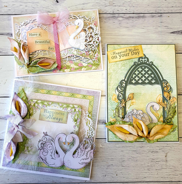 Heartfelt Creations - Calla Lily 3 Card Project Kit (CK)