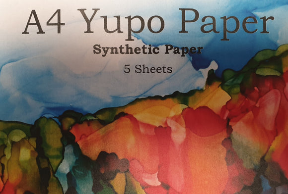 A4 - Yupo Paper 5 Pack