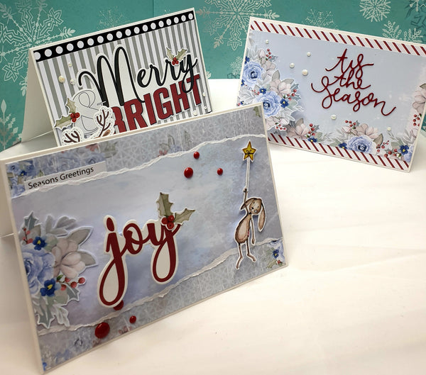 10 card class - Once upon a Christmas 26/09/20 1pm - 5pm
