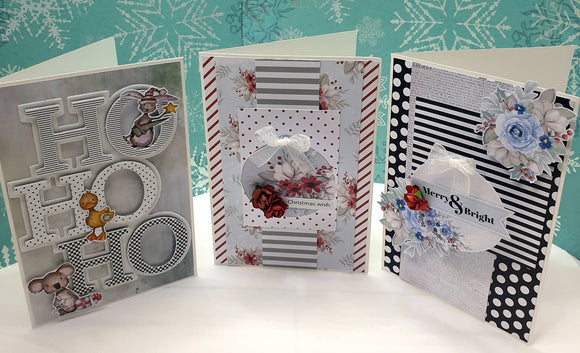 10 card KIT- Once upon a Christmas