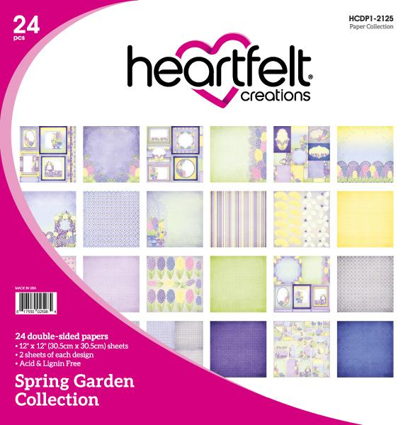 HCDP1-2125 : Spring Garden Paper Collection (Spring Garden)