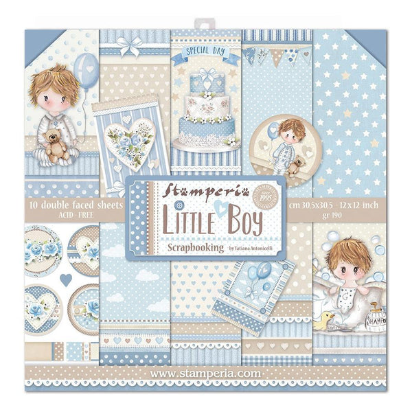 Stamperia -Little Boy Paper Pack