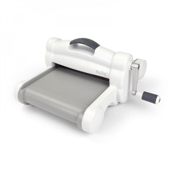Sizzix : Big Shot Plus Machine Only White & Gray - UK Version - 660020