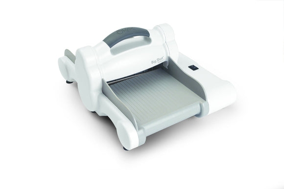 Sizzix  : Big Shot Express Machine Only White & Gray - UK Version - 660850