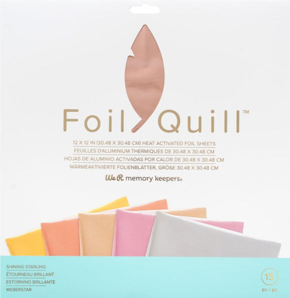 661026 : Foil Sheets - WR - Foil Quill - 12 x 12 - Shining Starling - 30 Sheets