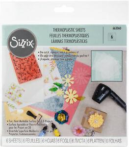 Sizzix-663060 Thermoplastic Sheets x6