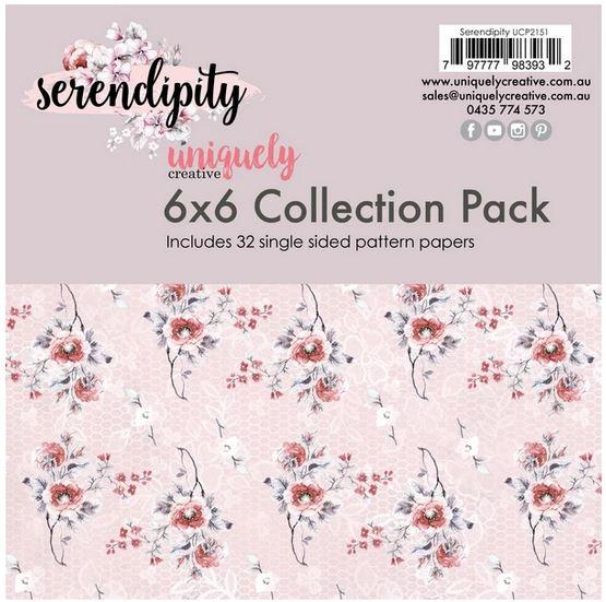 UCP2151 6x6 Collection Pack - Serendipity