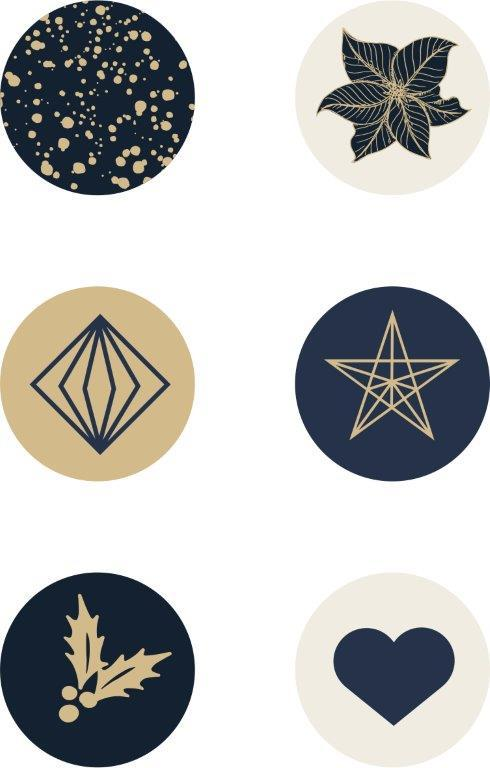 Kaisercraft : CR216 - Starry Night Curios 6pk