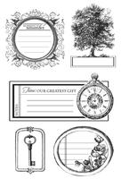 CS174 :  Heirloom Clear Stamp
