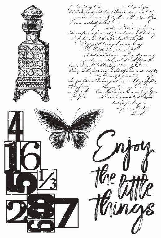 CS352 : Antiquities Clear Stamp