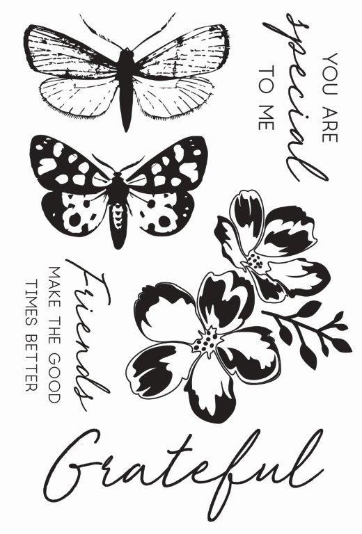 CS354 : Morning Dew Clear Stamp