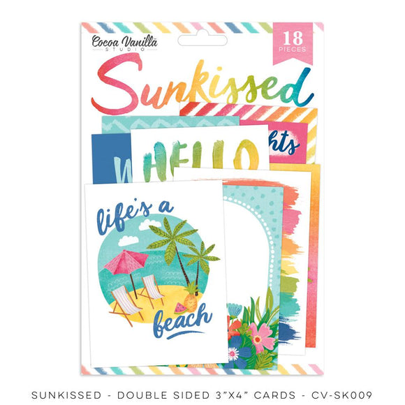"CV-SK009 - Sunkissed ""Pocket Cards"