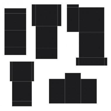 hcfp1-435-1 - Pocket and Flipfold Inserts C-Black