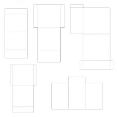 hcfp1-435-2 - Pocket and Flipfold Inserts C-White