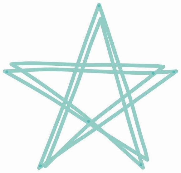 DD216 - Kaisercraft : Decorative Die - Scribble Star