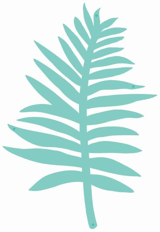 DD3321 : Decorative Die - Fern Leaf