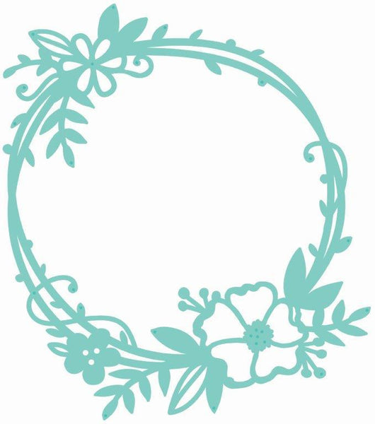 DD630 : Decorative Die - Floral Frame
