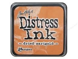 Ranger Distress Ink- Dried marigold