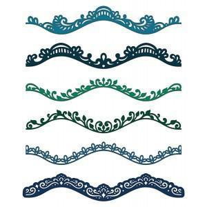 hcd1-7118 - Delicate Border Basics Die - Retired
