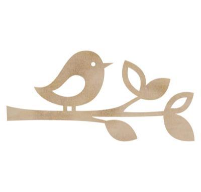 FL442 - Kaisercraft : Flourish Pack - Bird Twig