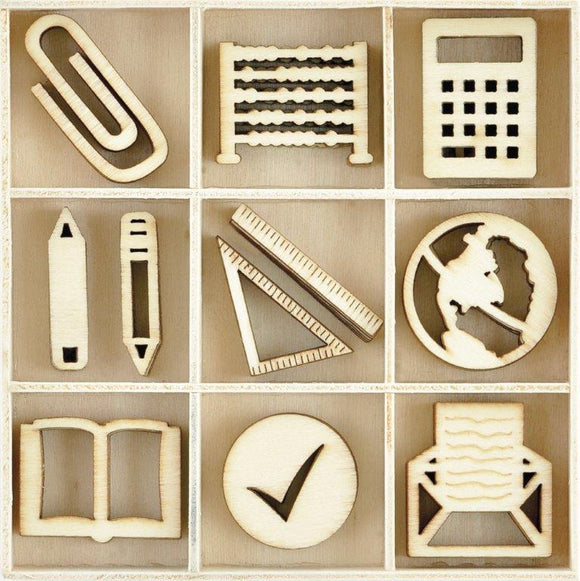 FL617 - Kaisercraft : Flourish Pack Classroom 45pcs