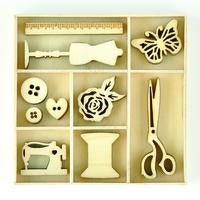 FL623-Kaisercraft Flourish pack -Treasures