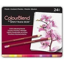 ColourBlend by Spectrum Noir 24pc Pencil Tin - Florals