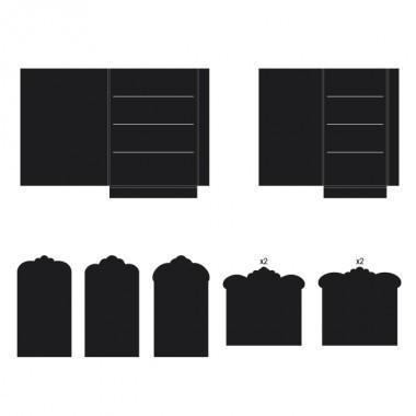 hcfp2-440-1 - Pocket and Flipfold Inserts F-Black