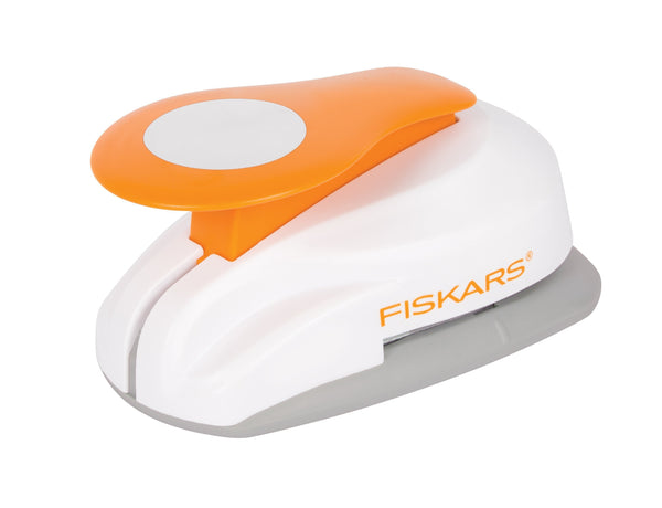 "Fiskars Lever Punch 2"" Circle (XL) - Diameter 1.73"" 4.40cm"